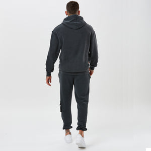 mens full utility tracksuit from the back