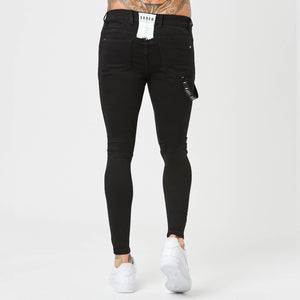 Faded Black spray on jeans