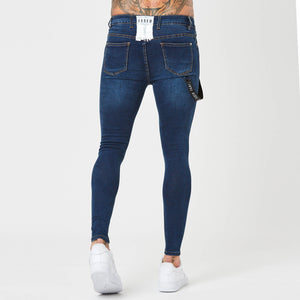 Indigo jeans for men