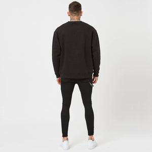 plain back of mens branded jumper