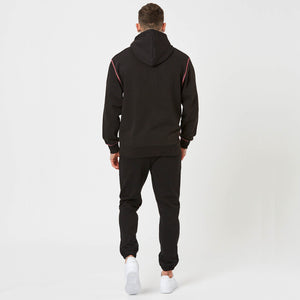 plain back on mens rage hoodie