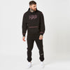 Mens graphic hoodie and black joggers