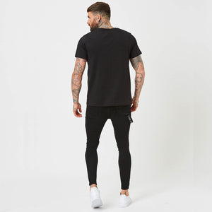 Muscle Fit Logo Tee