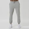 mens branded joggers in grey - Shin detail