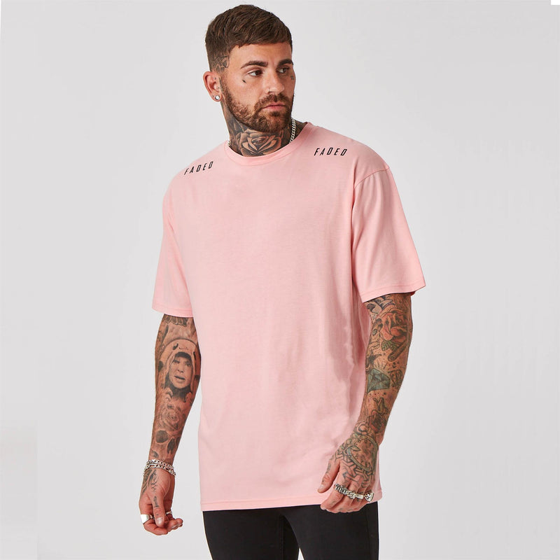 Shoulder branded streetwear t-shirt