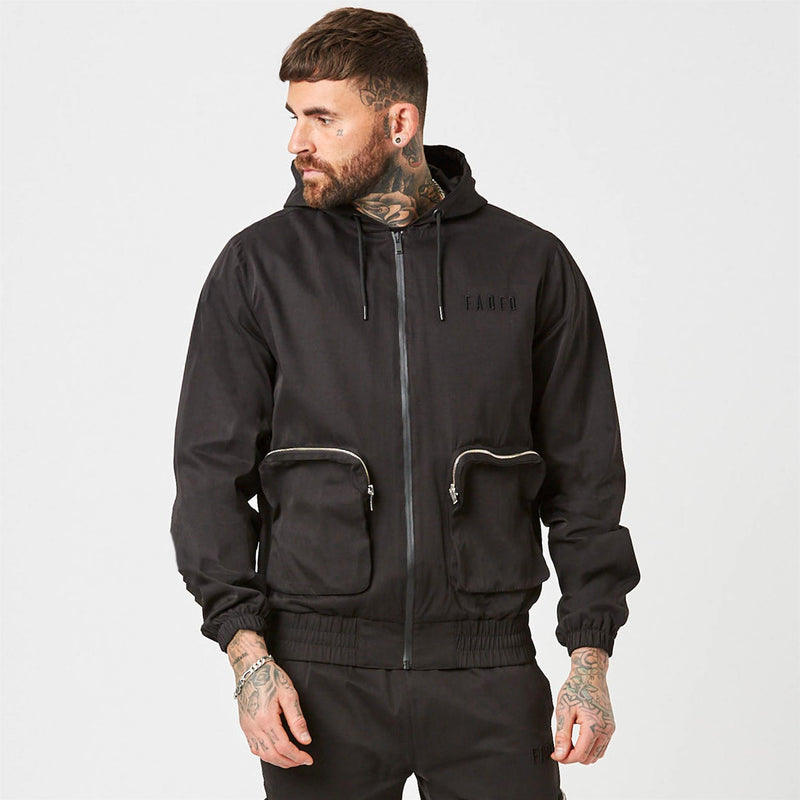 mens utility tracksuit, Stealth jacket and cargos