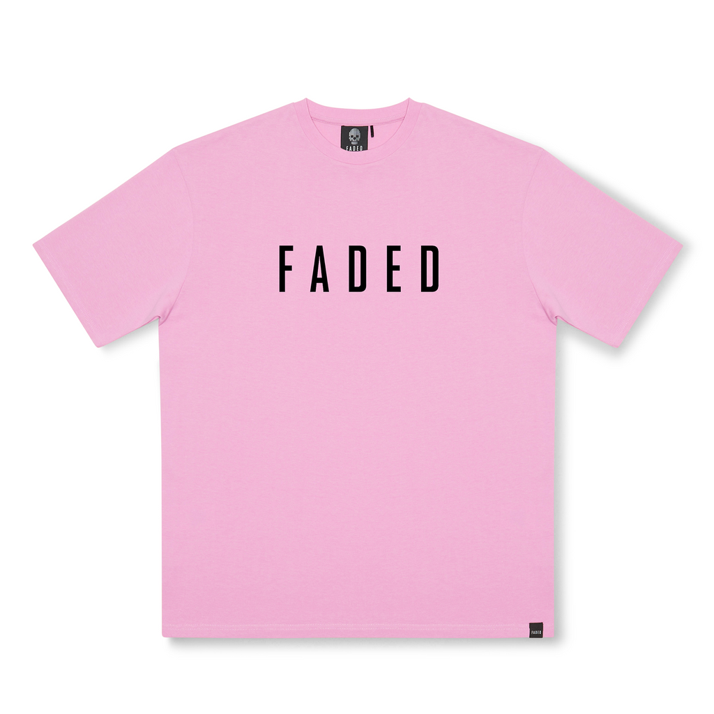 Classic Mid Logo Tee | Pink