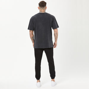 Devil Panda Tee | Vintage Washed Black