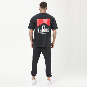 Nahbro Tee | Vintage Washed Black