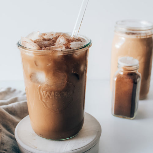 FROTHY COFFEE RECIPE WITH COLLAGEN - thatswhatsheeats