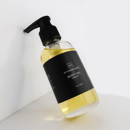 withSimplicity Serenity Organic Body Oil