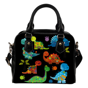 Dinosaur Leather Shoulder Bag