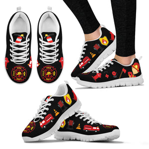 Firefighter Sneakers White