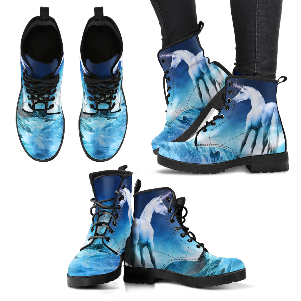 Unicorn Blue Women's Boots