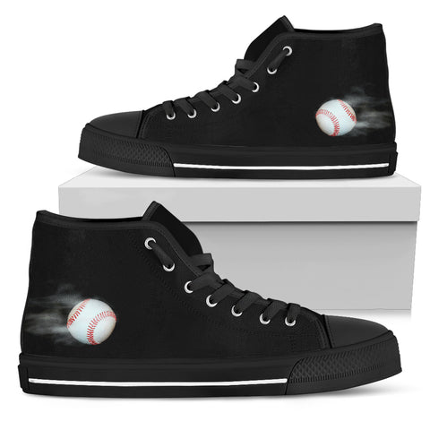 Men's High Top Sneakers - Baseball