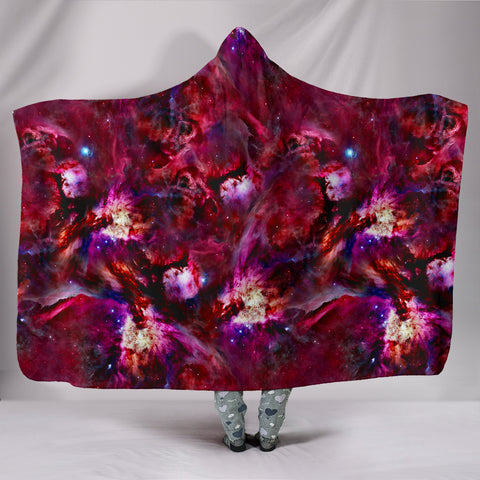 Guardian Galaxy Hooded Blanket