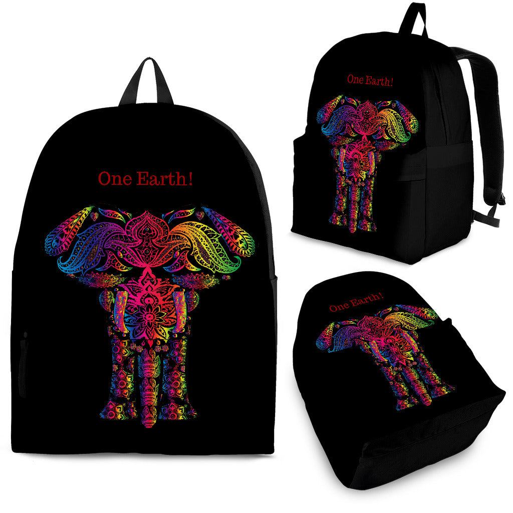 One Earth Elephant Backpack