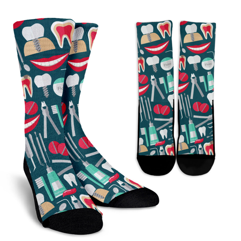 Dental Hygienist Crew Socks