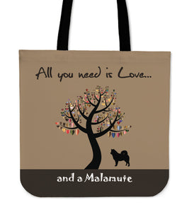 All You Need Is Love And A Malamute Brown