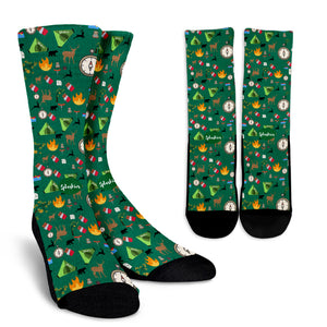 Camping Essentials Crew Socks