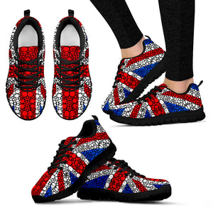Britain Flag Women's Sneakers