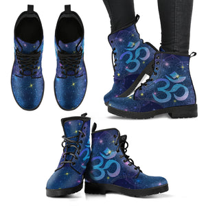 OM Mandala Women's Leather Boots