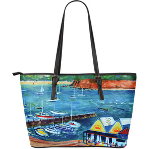 Seaside Large Tote Bag