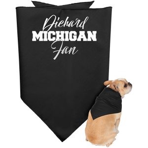 Michigan State Diehard Fan Doggie Bandana
