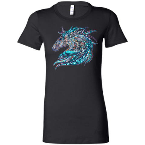 Tribal Horse Design T-Shirt