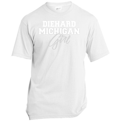 Michigan State Diehard Fan Port & Co. Made in the USA Unisex T-Shirt
