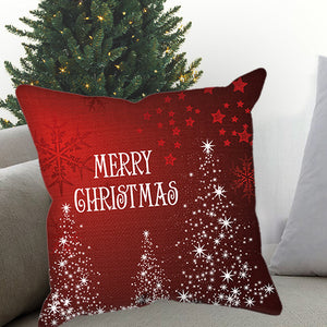 Merry Christmas Sublimated Pillow Case