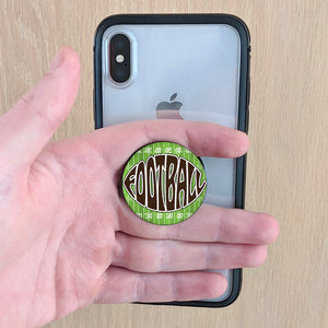 FOOTBALL Pop-Up Phone Grip