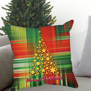 Christmas Wrapping Paper Sublimated Pillow Case