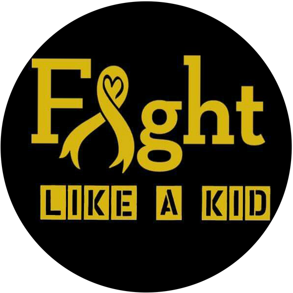 FIGHT LIKE A KID Childhood Cancer phone Grip