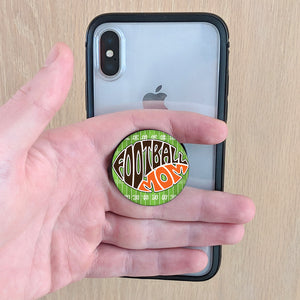 FOOTBALL MOM Pop-up Phone Grip