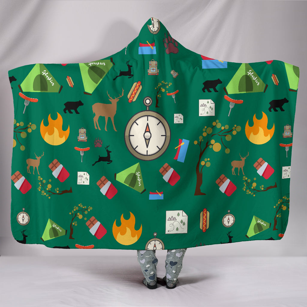Camping Essentials Hooded Blanket