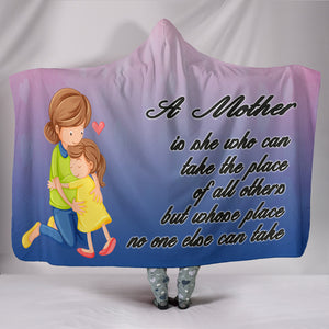 A Mother Hooded Blanket