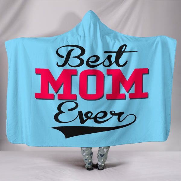 NP Best Mom Ever Hooded Blanket