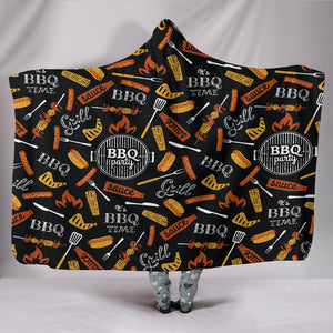BBQ Hooded Blanket
