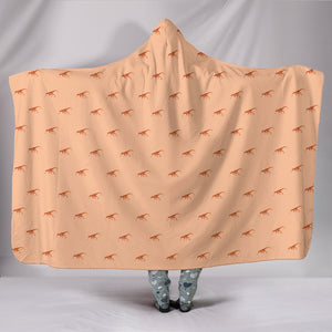 Dinosaur Hooded Blanket