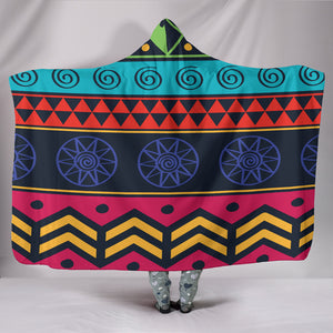 Customised Hoodie Blanket Striped Tribal