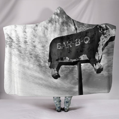 Best Barbecue Hooded Blanket