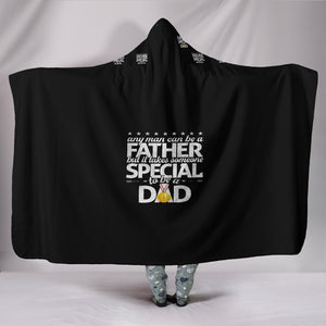 Custom Hoodie Blanket For a Special Dad