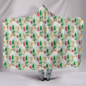 Feels Like Christmas Hooded Blanket