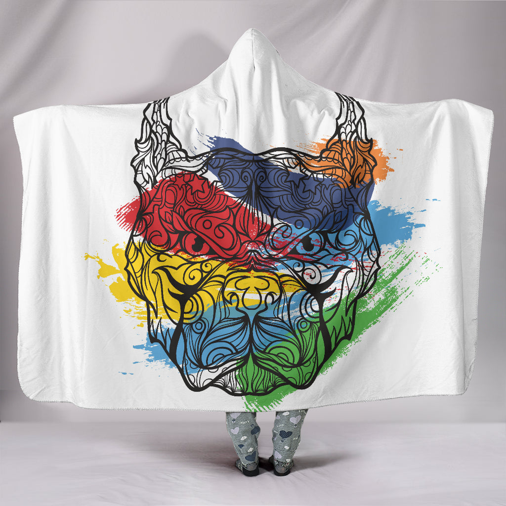 Colourbull Hooded Blanket