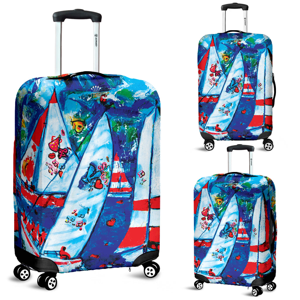 Sailboat Luggage cover