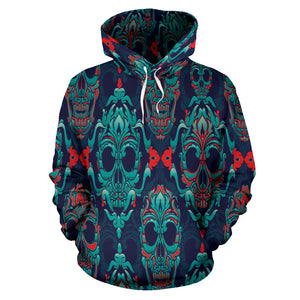 Skull All Over Hoodie
