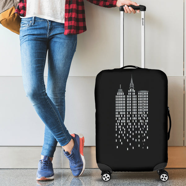 Luggage Cover ~ City Skyline