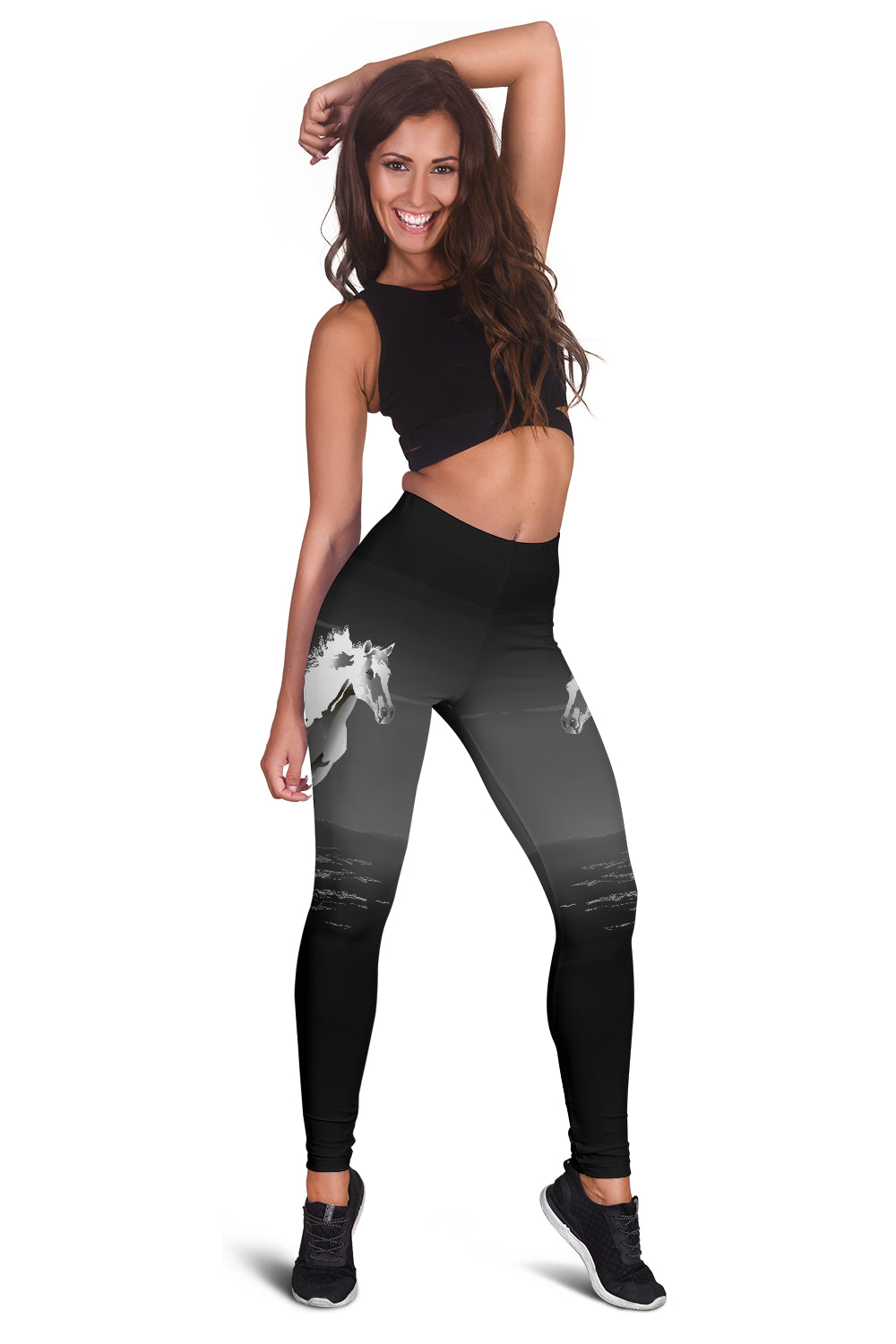 White Horse Leggings