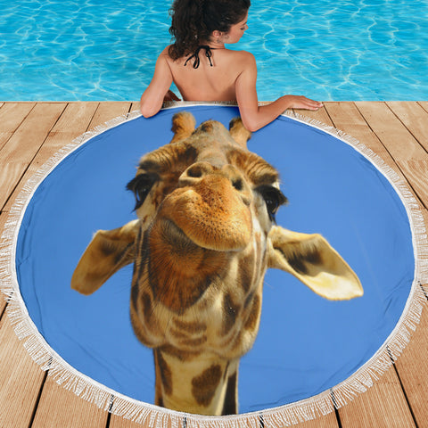 Giraffe Beach Blanket